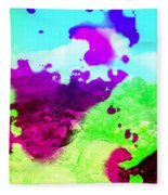 Abstract Desert Scene Fleece Blanket