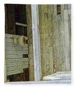 Abstract Doors Fleece Blanket