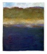 Abstract Dunes Ll Fleece Blanket
