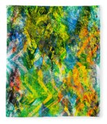 Abstract - Emotion - Admiration Fleece Blanket