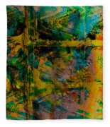 Abstract - Emotion - Facade Fleece Blanket