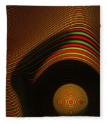 Abstract Eye Fleece Blanket