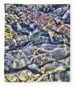 Abstract Fish 3 Fleece Blanket