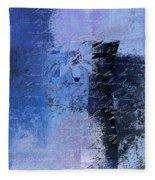 Abstract Floral - 04tl4t2b Fleece Blanket
