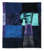 Abstract Floral - H15bt3 Fleece Blanket