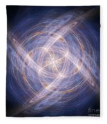 Abstract Fractal Background 17 Fleece Blanket