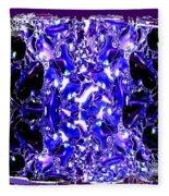 Abstract Fusion 117 Fleece Blanket