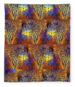 Abstract Fusion 142  Fleece Blanket