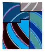 Abstract Fusion 143 Fleece Blanket