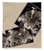 Abstract Fusion 169 Fleece Blanket