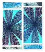 Abstract Fusion 170 Fleece Blanket