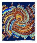 Abstract Fusion 176 Fleece Blanket