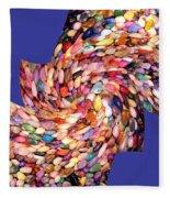 Abstract Fusion 189 Fleece Blanket