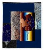 Abstract Fusion 191 Fleece Blanket