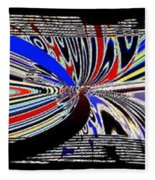 Abstract Fusion 197 Fleece Blanket