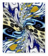 Abstract Fusion 198 Fleece Blanket
