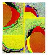 Abstract Fusion 199 Fleece Blanket