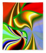 Abstract Fusion 200 Fleece Blanket