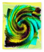 Abstract Fusion 201 Fleece Blanket