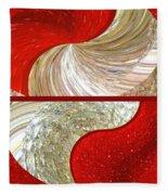 Abstract Fusion 218 Fleece Blanket
