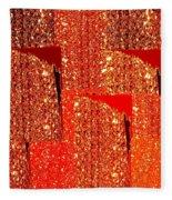 Abstract Fusion 228 Fleece Blanket