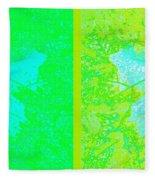 Abstract Fusion 249 Fleece Blanket