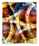Abstract Graffiti 2 Fleece Blanket