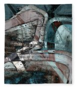 Abstract Graffiti 9 Fleece Blanket