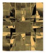 Abstract Halftone  Fleece Blanket