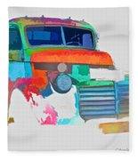 Abstract Jimmy Fleece Blanket