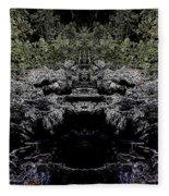 Abstract Kingdom Fleece Blanket