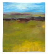 Abstract Landscape - The Highway Series Fleece Blanket