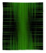 Abstract Lines 1 Fleece Blanket