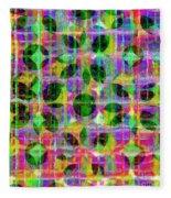 Abstract Lines 17 Fleece Blanket