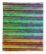 Abstract Lines 5 Fleece Blanket