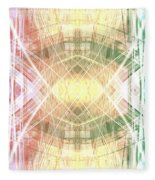 Abstract Light Fleece Blanket
