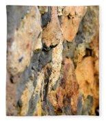 Abstract Natural Stone Fleece Blanket