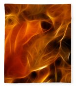 Abstract Of Nature 4 Fleece Blanket
