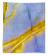 Abstract Of Picasso Jasper Fleece Blanket