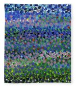Abstract Patterns Four Fleece Blanket