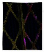 Abstract Series Xxx Fleece Blanket