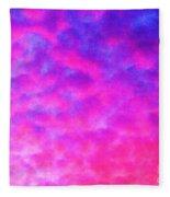 Abstract Sky Fleece Blanket