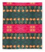 Abstract 814 Fleece Blanket