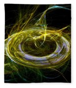 Abstract - The Ring Fleece Blanket