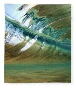 Abstract Underwater 2 Fleece Blanket