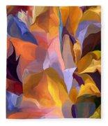 Abstract Vignettes Fleece Blanket