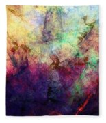 Abstraction 042914 Fleece Blanket