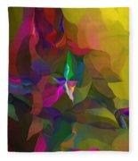 Abstraction 111212 Fleece Blanket