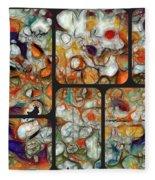 Abstractionnel -29a02 Fleece Blanket