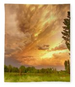 Abyss In The Sky Fleece Blanket